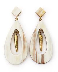 Ashley Pittman Natural Heleni Earrings