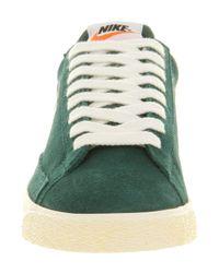 Nike Green Blazer Low Vintage Dark Atomic Strata Grey for men