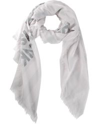 Each x Other - White 'pareo' Robert Montgomery Collaboration Scarf - Lyst