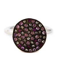 Rosa Maria - Metallic 'New' Ring - Lyst