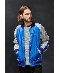 Stussy - Blue Souvenir Tour Jacket for Men - Lyst
