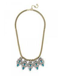 BaubleBar | Blue Petite Maharaja Fringe Strand-Turquoise | Lyst
