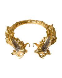 Alexander McQueen   Metallic Fish Choker   Lyst