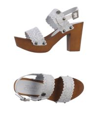 Replay - Gray Sandals - Lyst
