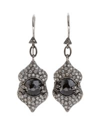 Cathy Waterman | Black Narnia Drop Earrings | Lyst