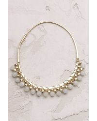 Anthropologie | Green Isca Hoops | Lyst