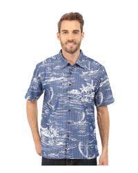 Quiksilver Blue Poipu Beach Woven Shirt for men