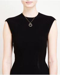 Rosa De La Cruz - Metallic 18k Yellow Gold Diamond Smile Necklace - Lyst