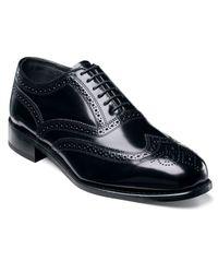 Florsheim | Black Lexington Wing-tip Oxford Shoes for Men | Lyst