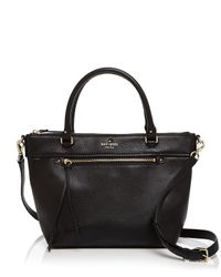 kate spade new york - Black Cobble Hill Small Gina Satchel - Lyst