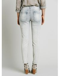 Free People | Blue Womens Cord Roller Skinny | Lyst