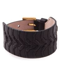 Alexander McQueen - Black Skeleton Cuff for Men - Lyst