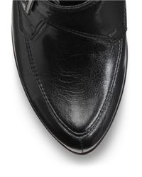 Aerosoles   Black Nostalgic Faux Leather Booties   Lyst
