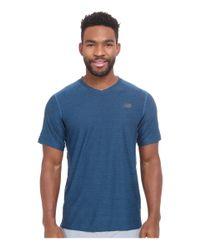New Balance | Blue Shift Short Sleeve for Men | Lyst