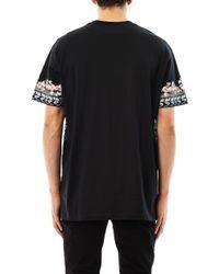Givenchy Black Shark and Mermaid Oversized Tshirt for men