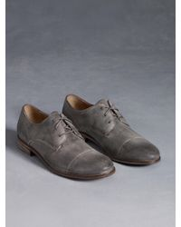 John Varvatos | Gray Sid Casual Derby for Men | Lyst