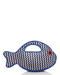 kate spade new york Multicolor Splash Out Fish Tote
