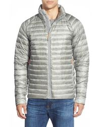 The North Face Gray 'quince' Water Repellent Down Jacket for men