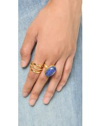 Gorjana - Metallic Bali Split Ring - Gold - Lyst