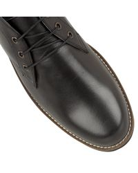 Frank Wright Black Gee Ii Mens Lace Up Boots for men