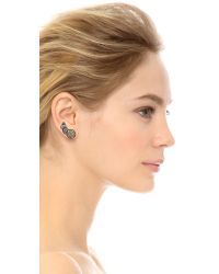Miguel Ases Circle Ear Crawlers Blue Multi