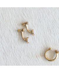 Kelly Wearstler | Metallic Mesa Earring | Lyst