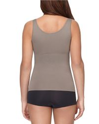 Yummie By Heather Thomson | Gray Seamlessly Shaped Lena Tank Top | Lyst
