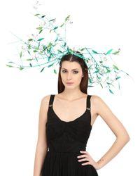 Nana' Green Kate Maxi Feather Headdress