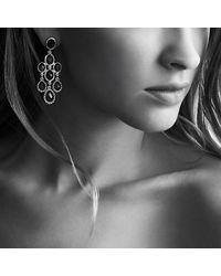 David Yurman   Metallic Semiprecious Multistone Sterling Silver Chandelier Earrings   Lyst