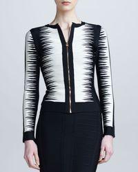 Hervé Léger Black Strapless Sweetheart Bandage Dress