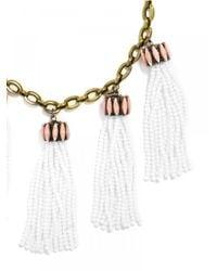 BaubleBar | Metallic Bahama Tassel Collar | Lyst