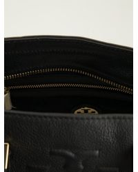Tory Burch - Black Small Thea Convertible Tote - Lyst