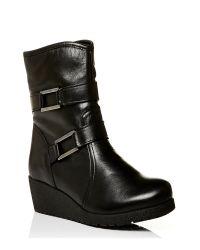 Moda In Pelle Black Adonia Medium Casual Short Boots