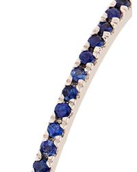Carolina Bucci Blue Sapphire Pavé & White-Gold Ring