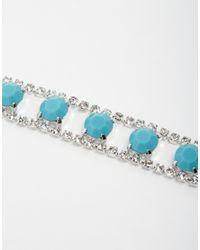 Krystal - Multicolor Swarovski Crystal Hand Harness - Lyst