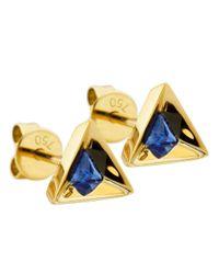 Ruifier | Blue 'stella' Sapphire Earrings | Lyst