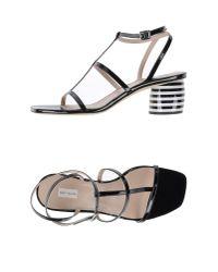 Marc Jacobs - Black Sandals - Lyst