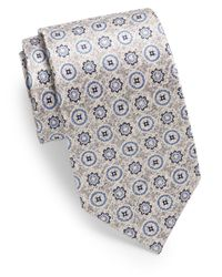 Burma Bibas | Metallic Abstract Patterned Silk Tie for Men | Lyst