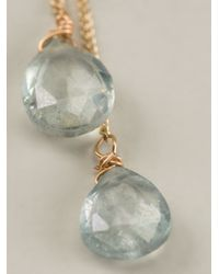 Uzerai Edits | Blue Topaz Long Earrings | Lyst