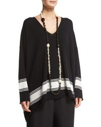 Eskandar | Black Single-strand Beaded Long Necklace | Lyst