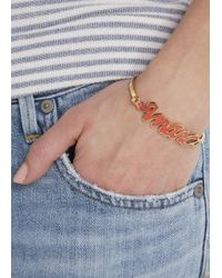 Marc By Marc Jacobs | Red Enamel Bracelet | Lyst