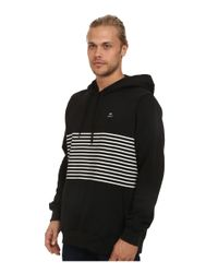 RVCA | Black Sin Layer Pullover Hoodie for Men | Lyst