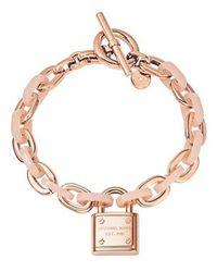 Michael Kors Pink Mkj4326791 Ladies Charm Bracelet