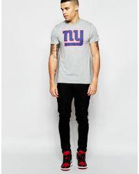 KTZ - Gray New York Giants T-shirt for Men - Lyst