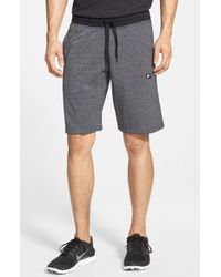 Nike | Gray 'aw77 Alumni' French Terry Knit Shorts for Men | Lyst