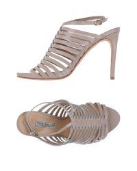 The Seller Gray Sandals