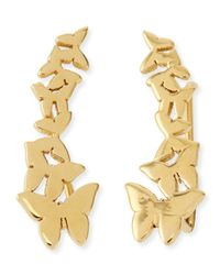 Jennifer Zeuner - Metallic Symone Butterfly Earring Cuffs - Lyst
