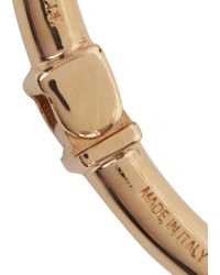Vita Fede | Metallic Titan Rose Gold Tone Bangle | Lyst