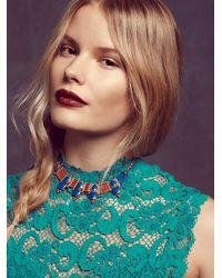 Free People - Blue Karen London Womens Free Bird Necklace - Lyst