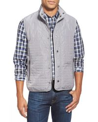 W.r.k. | Gray 'denali' Vest for Men | Lyst